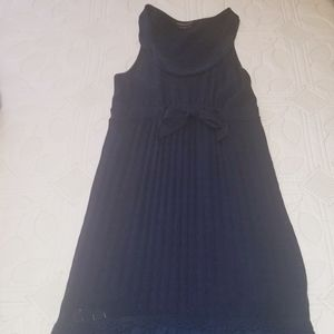 BCBG MaxAzria navy blue dress
